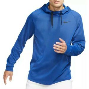 Nike BNWT blue thinTherma sweater hoodie Large